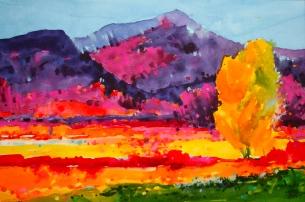 Taos Purple Mountains