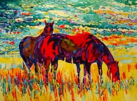 Wyoming Painted Ponies