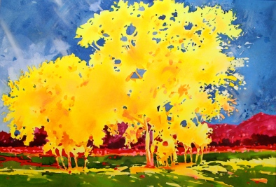 Yellow Aspen Grove Bachelor Loop