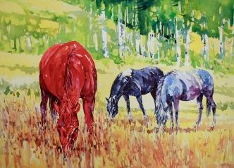 Spring Pastures 30x40