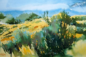 Wyoming Sagebrush 20x24